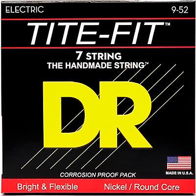 DR Strings Tite-Fit LT7-9 Lite 7-String Nickel Plated Electric Guitar Strings