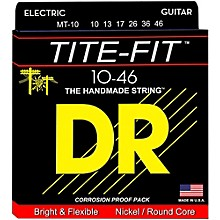 DR Strings Tite-Fit MT-10 Medium-Tite Nickel Plated Electric Guitar Strings