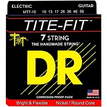 DR Strings Tite-Fit MT7-10 Medium 7-String Nickel Plated Electric Guitar Strings