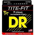 DR Strings Tite-Fit Nickel Plated 7-String Electric Guitar Strings Heavy (11-60) thumbnail