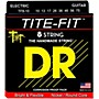 DR Strings Tite-Fit Nickel Plated Medium 8-String Electric Guitar Strings (10-75) Medium