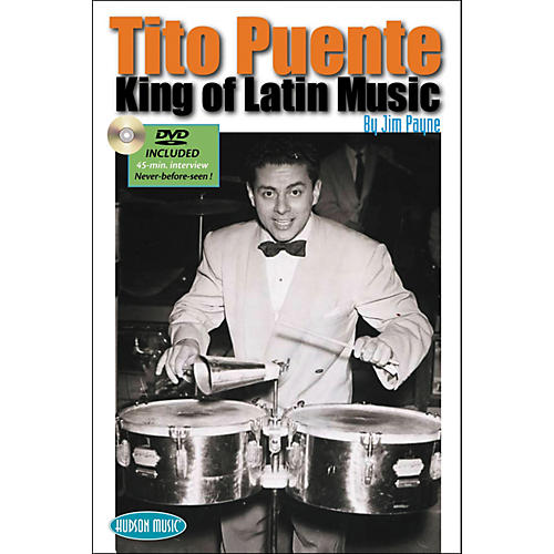 Hudson Music Tito Puente - King of Latin Music Book with DVD