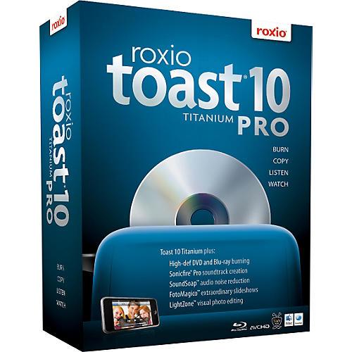 Roxio Toast 10 Titanium Pro for MAC