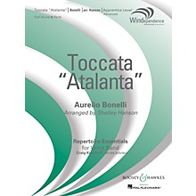 "Boosey and Hawkes Toccata (""Atalanta"") Concert Band Level 3 composed by Aurelio Bonelli arranged by Shelley Hanson"