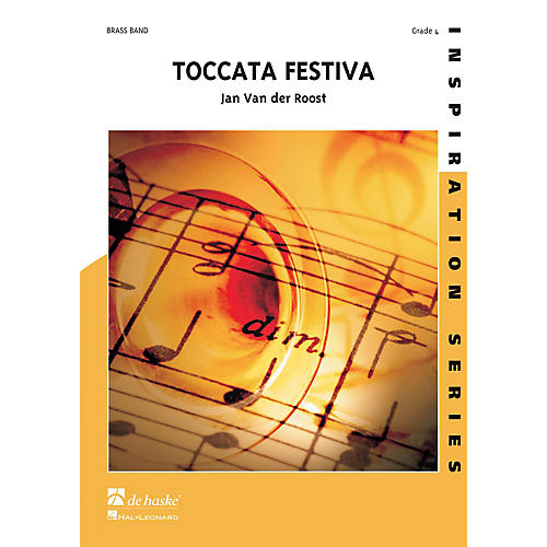 Hal Leonard Toccata Festiva Score Only Concert Band