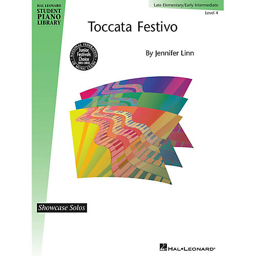 Hal Leonard Toccata Festivo Piano Library Series by Jennifer Linn (Level Early Inter)