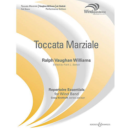 Boosey and Hawkes Toccata Marziale (Score Only) Concert Band Level 5 Composed by Ralph Vaughan Williams