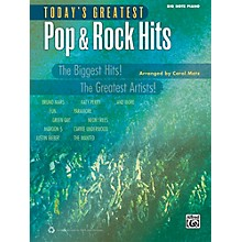 Alfred Today's Greatest Pop & Rock Hits Big Note Piano Book