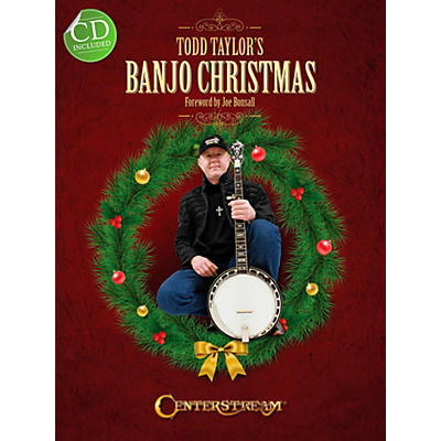 Centerstream Publishing Todd Taylor's Banjo Christmas (Book/CD)