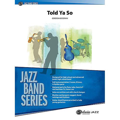 Alfred Told Ya So Jazz Band Grade 3 Set