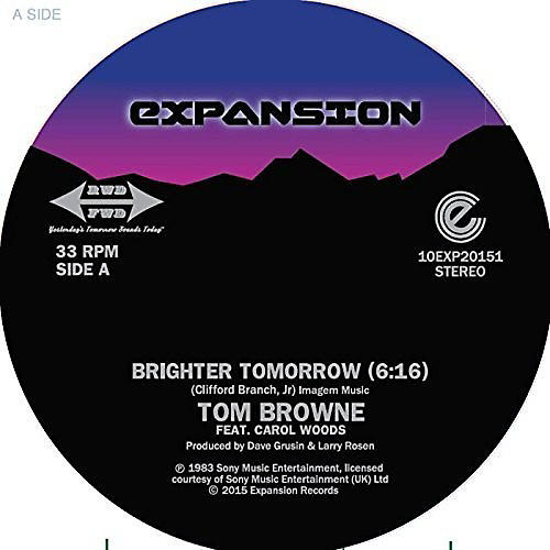 Alliance Tom Browne - Brighter Tomorrow