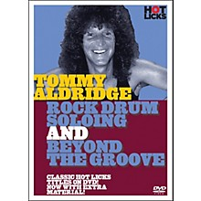 Music Sales Tommy Aldridge Rock Drum Solos DVD