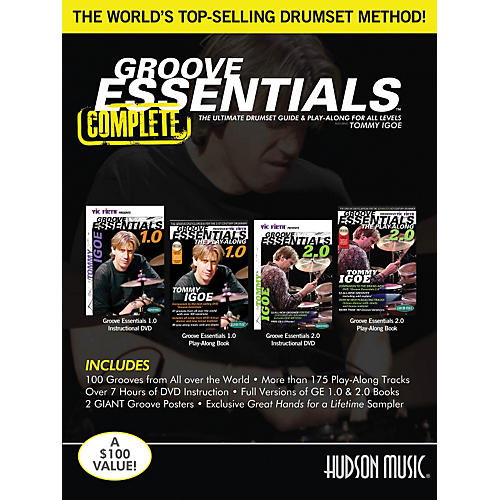 Hudson Music Tommy Igoe - Groove Essentials 1.0/2.0 Complete Online Audio And Video