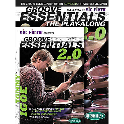 Hudson Music Tommy Igoe Groove Essentials Book/DVD/CD Play-Along Combo Pack 2.0