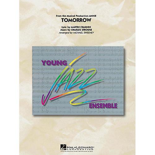 Hal Leonard Tomorrow (From Annie) Jazz Band Level 3 Arranged by Michael Sweeney