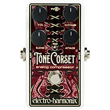 Open Box Electro-Harmonix Tone Corset Analog Compressor Effects Pedal