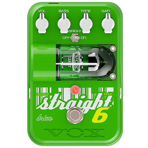 Tone Garage Straight 6 Overdrive Guitar Effects Pedal