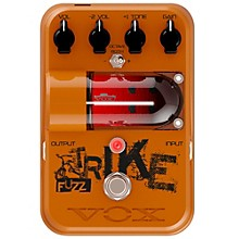 Open Box Vox Tone Garage Trike Fuzz Guitar Effects Pedal