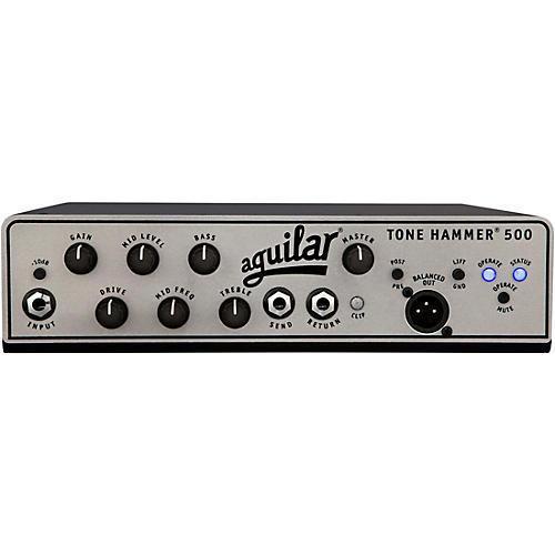Aguilar Tone Hammer 500 Bass Amp Head Black