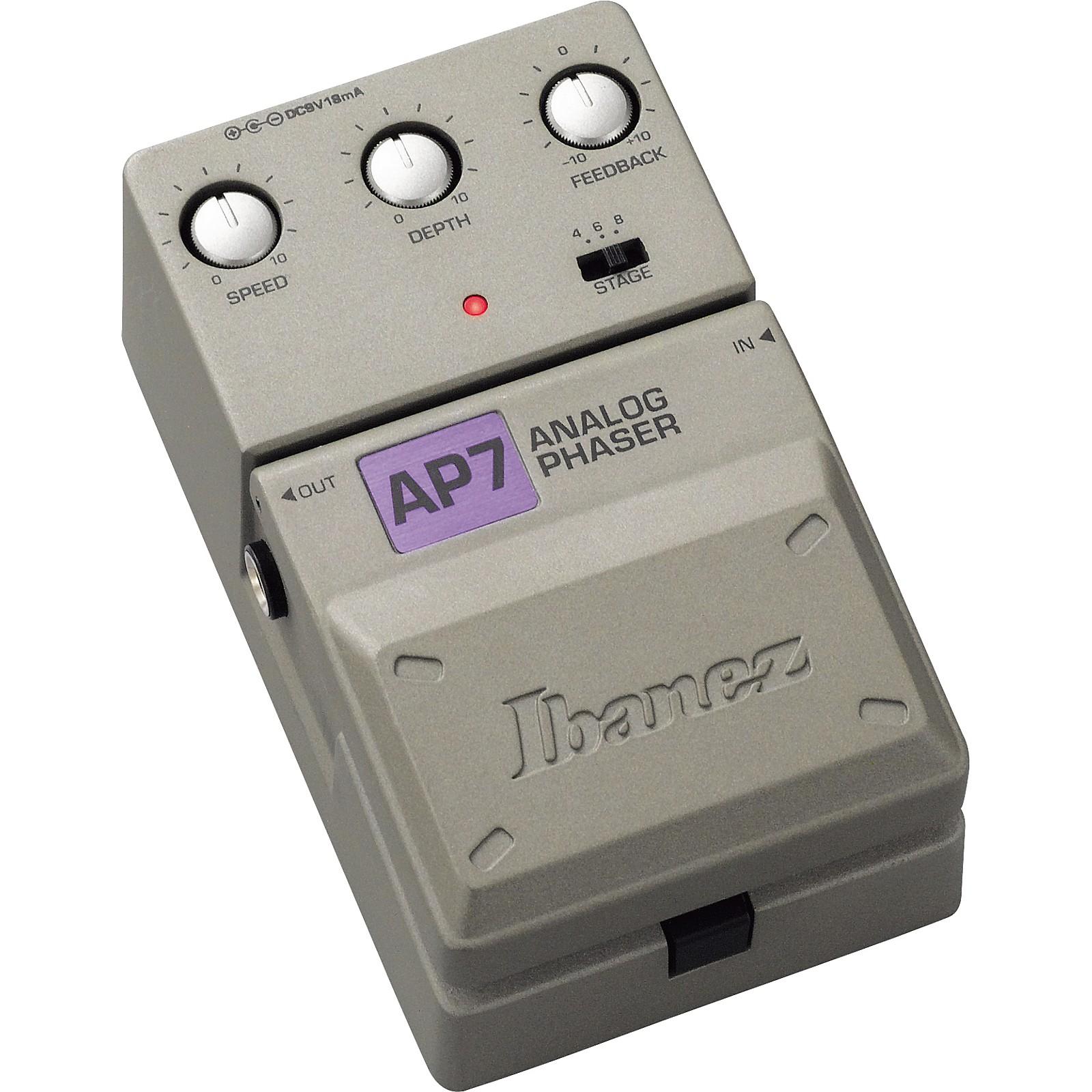 Ibanez Tone-Lok AP7 Analog Phaser Guitar Effects Pedal