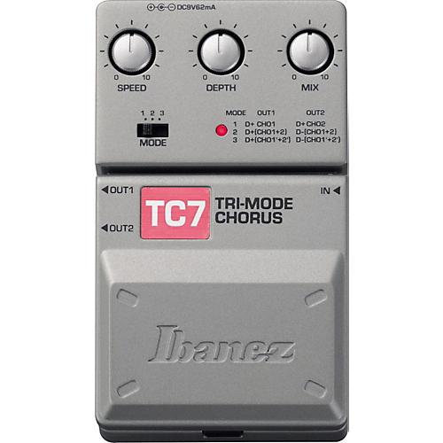 Ibanez Tone-Lok TC7 Tri-Mode Chorus Guitar Pedal