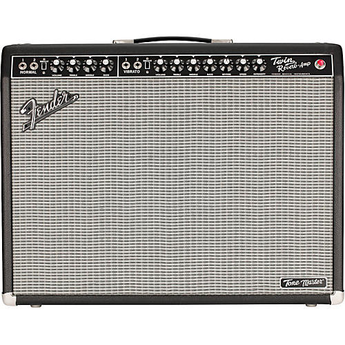Fender Tone Master Twin Reverb 200W 2x12 Guitar Combo Amp Black