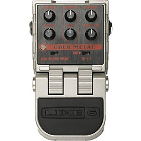 line 6 tonecore uber metal distortion pedal musician 39 s friend. Black Bedroom Furniture Sets. Home Design Ideas