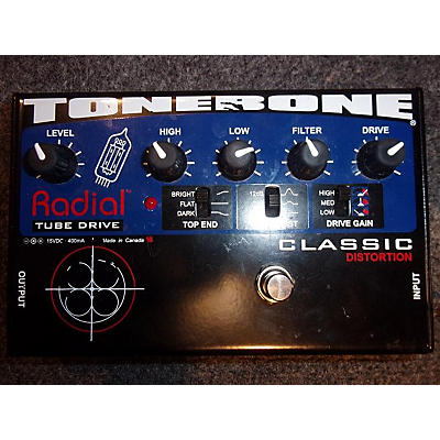 Radial Engineering Tonebone Classic Distortion Effect Pedal