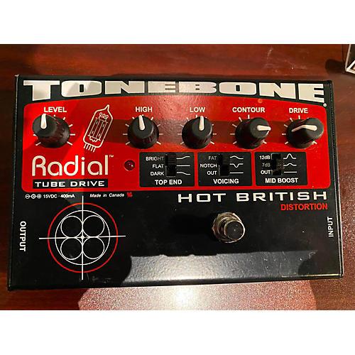 Tonebone Hot British Tube Drive Effect Pedal