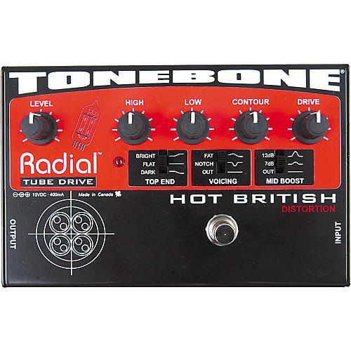 Radial Engineering Tonebone Hot British Tube Drive Effects Pedal