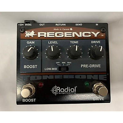 Radial Engineering Tonebone Regency Pre-drive And Booster Effect Pedal