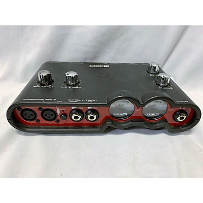 Line 6 Toneport Ux2 Red Audio Interface