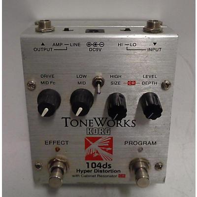 Korg Toneworks 104ds Effect Pedal