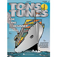 Curnow Music Tons of Tunes for the Beginner (Bb Clarinet - Grade 0.5 to 1) Concert Band Level .5 to 1