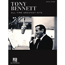 Hal Leonard Tony Bennett - All Time Greatest Hits Piano/Vocal/Guitar Songbook