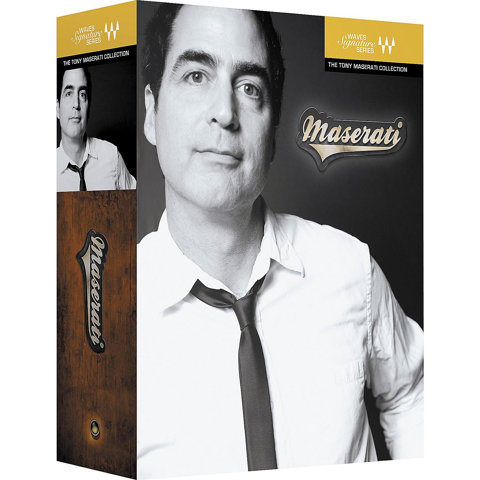 Waves Tony Maserati Signature Series Software Download Musician S Friend