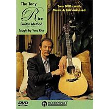 Homespun Tony Rice Guitar Method (2-DVD Set)