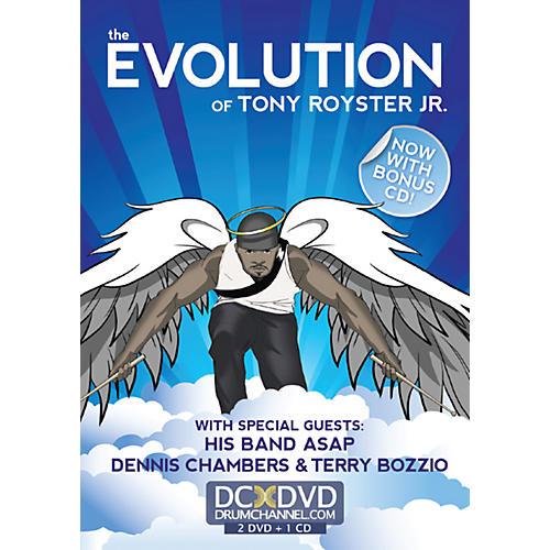 Alfred Tony Royster Evolution 2 DVDs & CD