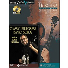 Hal Leonard Tony Trischka Banjo Bundle Pack (Book/CD/DVD)