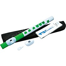 TooT Student Flute with Silicone Keys White/Green