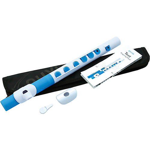 Nuvo TooT with Silicone Keys White/Blue