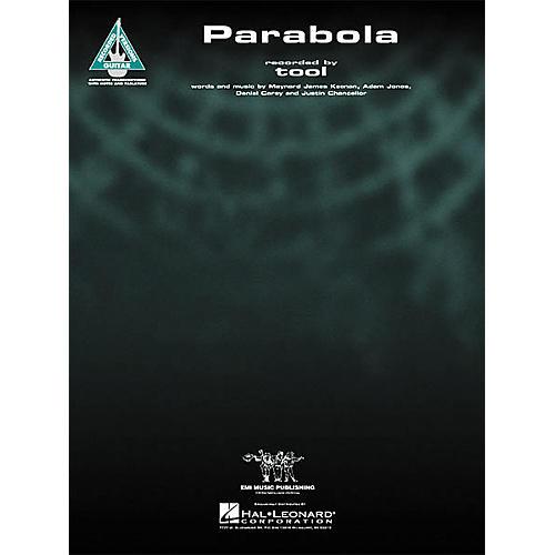 Hal Leonard Tool: Parabola Guitar Sheet Music Book