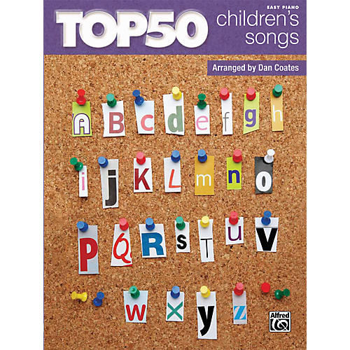 Alfred Top 50 Children's Songs Book
