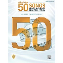 Alfred Top 50 Songs from the Warner Bros. Film Collection Piano/Vocal/Guitar Songbook