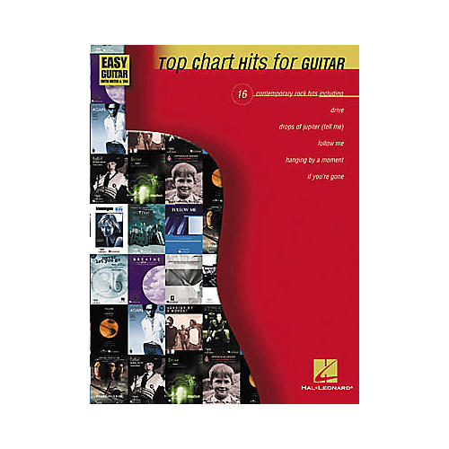 Hal Leonard Top Chart Hits for Easy Guitar Book