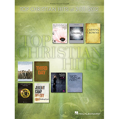 Hal Leonard Top Christian Hits Of 2011-2012 P/V/G Songbook