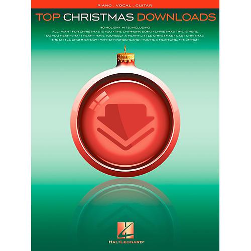 Hal Leonard Top Christmas Downloads for Piano/Vocal/Guitar (P/V/G)