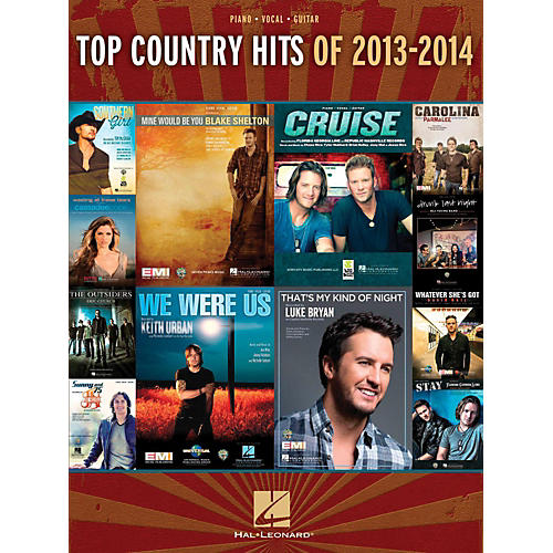 Hal Leonard Top Country Hits Of 2013-2014 for Piano/Vocal/Guitar