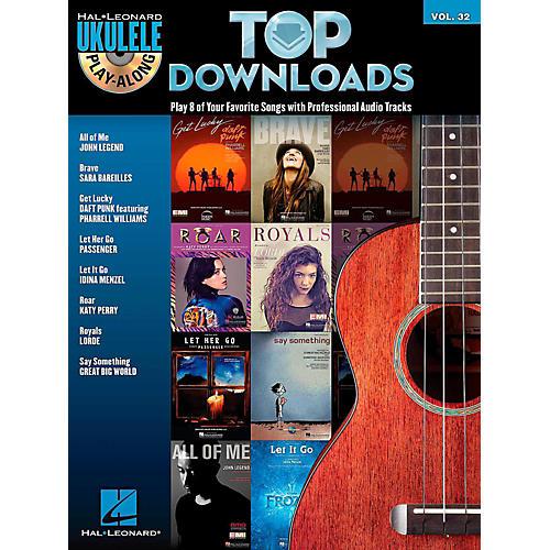 Hal Leonard Top Downloads - Ukulele Play-Along Series Vol. 32 Book/CD