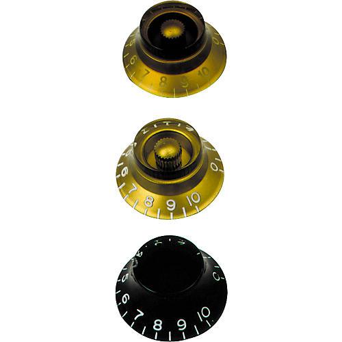 Gibson Top Hat Knobs Vintage Amber 4-Pack
